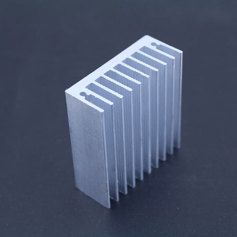 Free Shipping 1 pc 50*45*18mm Heatsink Cooling Fin Cooler Radiator Aluminum Heat Sink for LED Power IC Transistor Module PBC