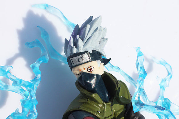 Free shipping 1pc Japan Anime Naruto Shippuden 11cm Hatake Kakashi PVC Action Figure Toy Doll Model