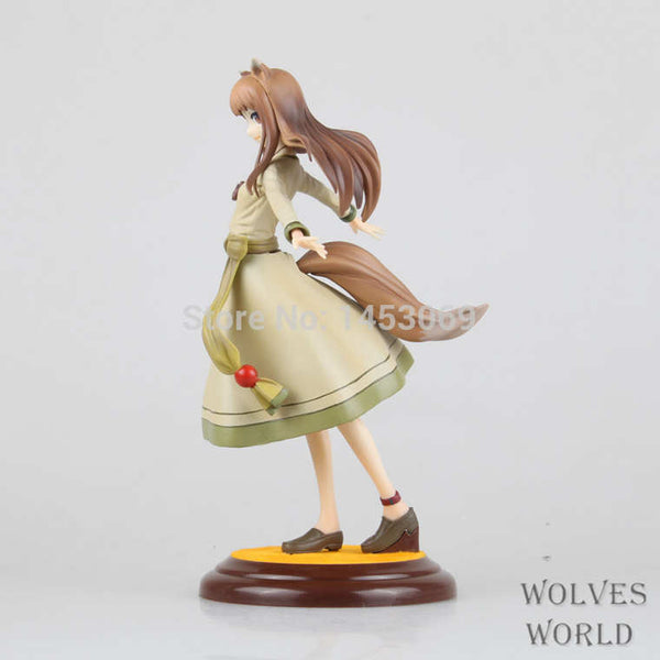 "Free Shipping Anime Kotobukiya Spice and Wolf Holo Renewal 1 8 Scale Boxed PVC Action Figure Collection Model Toy 8"" 20CM"