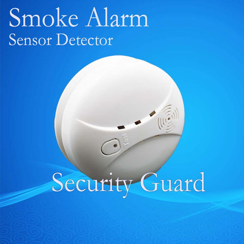 Free Shipping Hot Selling New 433 Wireless Smoke Detector Fire Alarm Sensor for Indoor Home Safety Garden Security SM-01