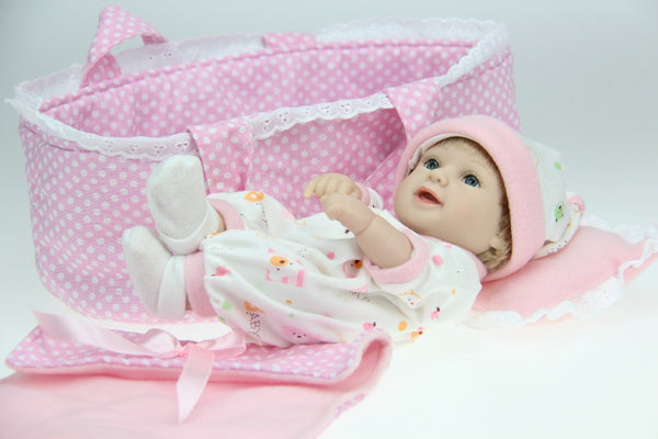 free shipping new deign baby doll princess girl's great present very popular soft silicone vinyl doll