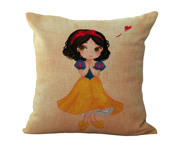 Free Shipping Wholesale 100% New Linen Cotton Princess Cushion Pillow on sofa for home decoration