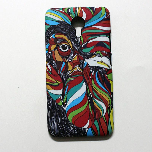 fundas phone capa for meizu m3 note 3D cover Case for meizu m3 note colorful printing plastic hard Case coque with a gift