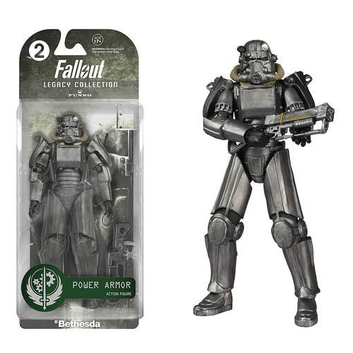 Funko Legacy Collection Fallout 4 Lone Wanderer Power Armor PVC Action Figure For Kid Toy Christmas Gifts