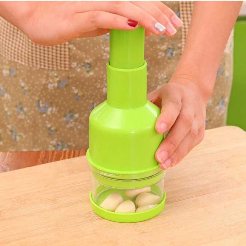 Garlic Chopper Garlic Presses Kitchen Chopper Cutter Garlic Grinding Kitchen Hand Tool Vegetable Cutting Ginger Garlic Presses