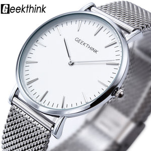 Geekthink Quartz Stainless Steel Quartz Wristwatches Men L8001