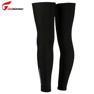 GETMOVING Breathable Windproof Cycling Leg Warmers Mountain Road Cycling Socks Bike Protect Covers Cycling Leg Warmers