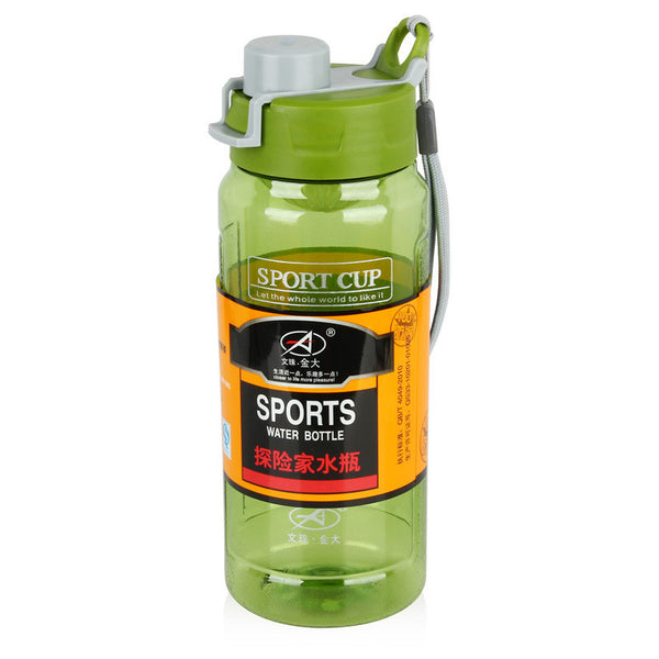 Green Sports water bottles explorer Space cups 720ml plastic water bottle for outdoor Mountaineer camping Drinking water bottle