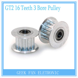 GT2 16 teeth pulley wheel Perlin passive idler pulley wheel bore 3mm For 3d printer parts H305