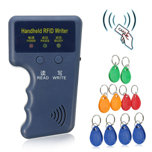 Handheld 125KHz EM4100 RFID Copier Writer Duplicator