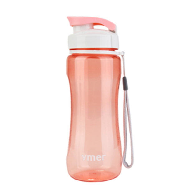 Healthy Bicycle Water Bottle Simple Space Sport Cup Travel Hiking Running Bottle 560ML Transhome