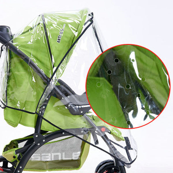High Quality Baby Stroller Cover Universal Waterproof Rain Cover Dust Wind Shield Stroller Accessories Pushchairs Buggys HK1000