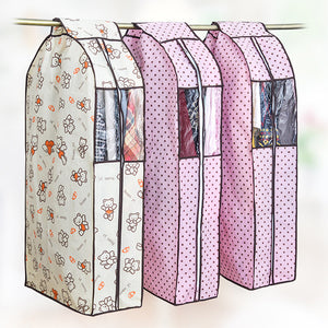 Home Cloth Hanging Garment Suit Coat Dust Cover Protector Wardrobe Storage Bag