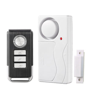 Home Security Door Window Siren Magnetic Sensor Alarm Warning System Wireless Remote Control Door Detector Burglar Alarm