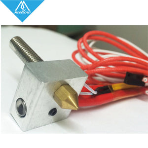 HOT 3D printer MK8 Extruder hot end kit 12V 24V 0.4mm nozzle heating MK8 Extruder hotend DIY Accessories KIT025