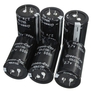 Hot Sale Newest 1PCS Black Farad Capacitor 2 7V 500F 35x60MM Super