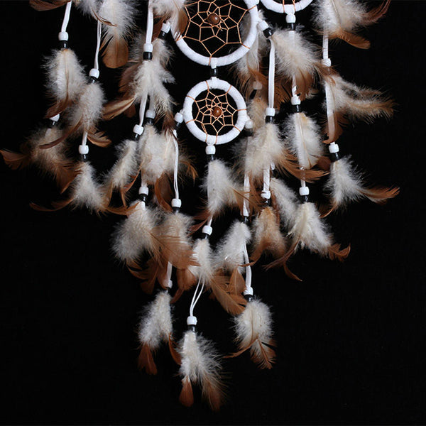 Indian Style Handmade Dreamcatcher Christmas Decoration Wall Hanging Decoration Ornament Decor adesivos para parede Dreamcatcher