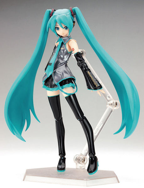 "Japan Anime Hatsune Miku Figure Figma 014 PVC Action Figure Collectible Brinquedos Kids Toys Juguetes 6"" 15CM Free Shipping"