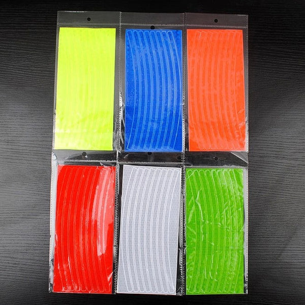 JF40025 Luminescent Film DIY Glowing Lumious tapes Waring stripes Night lighting lines for Bicycles Reflective Stickers