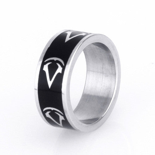 Kids Toys Action Figure Cosplay Juguetes Assassins's Game Around Titanium Steel Brinquedos Assassins Creed Ring