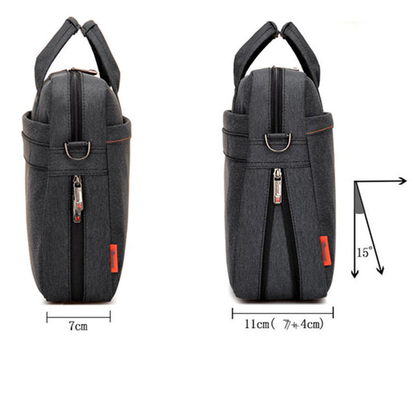 Laptop bag 17.3 17 15 14 13 inch Shockproof airbag waterproof computer bag men and women luxury thick Notebook bag 2016 new