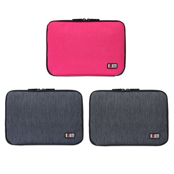 Large Double Layer Cable Organizer Bag Digital USB Cable Earphone Pen Travel Portable Storage Case