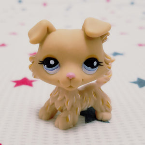 LPS Lovely Pet shop animal action figure toy littlest doll Puppy Dog blue eyes #1194