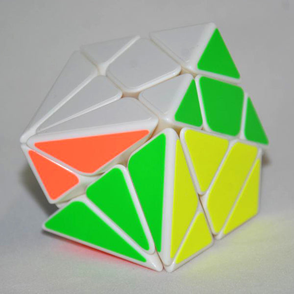 Moyu 3x3x3 Axis Magic Cube Change Irregularly Jinggang Speed Cube with Frosted Sticker