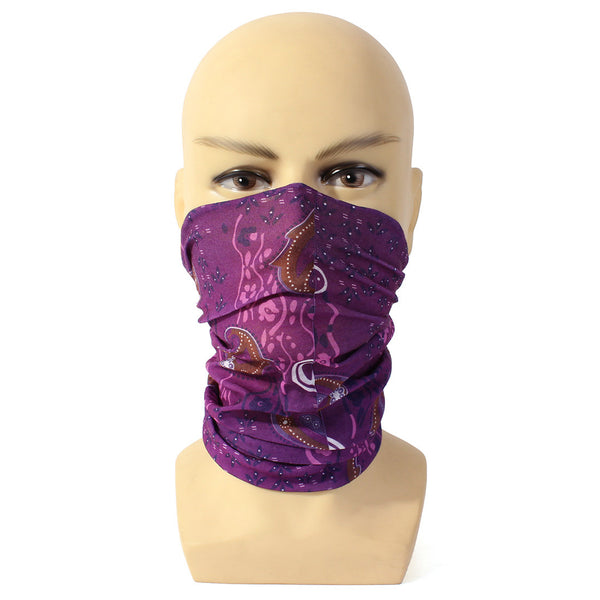 MTB Road Mountain Cycling Bike Bicycle Multi Function Head Wear Head Scarf Face Mask Facemask Handband 15 Color