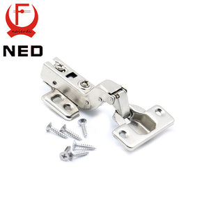 NED C Series Hinge Stainless Steel Door Hydraulic Hinges Damper Buffer Soft Close For Cabinet Cupboard Furniture Hardware