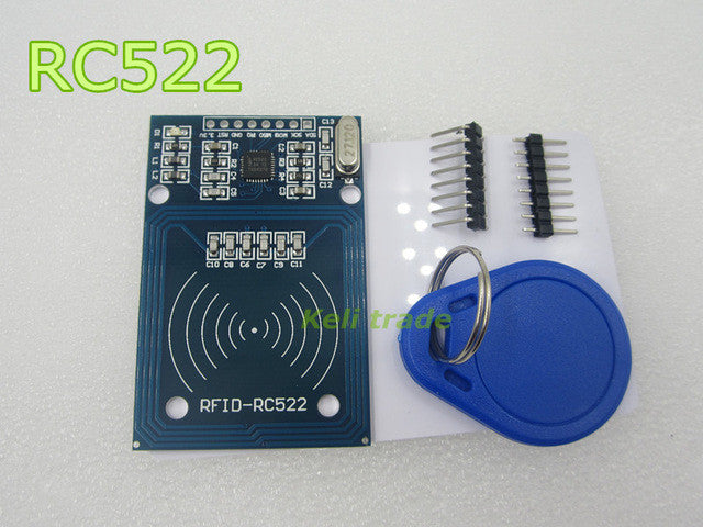 new 1PCS LOT MFRC-522 RC522 RFID Kits S50 13.56 Mhz 6cm With Tags SPI Write & Read for arduino uno 2560