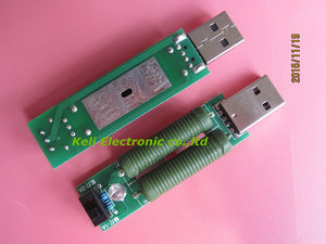 new 1pcs lot USB mini discharge load resistor 2A 1A With switch 1A Green led 2A Red led