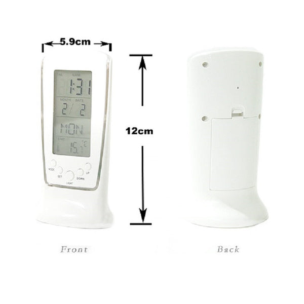 New Arrival LED Digital Home Alarm Clock Multi Functional Clock LED Calendar Thermometer Display Clock with Backlight