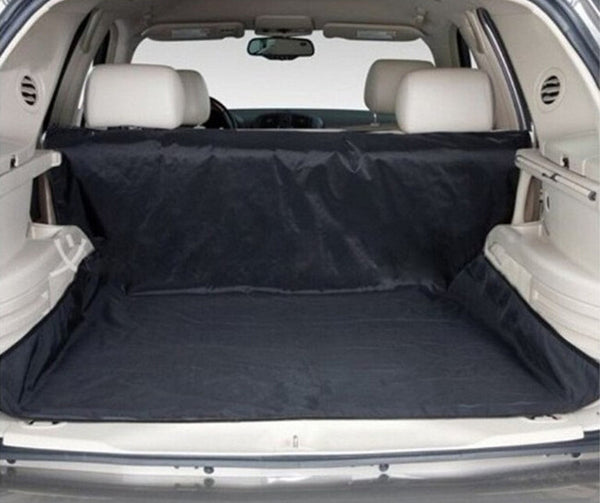 "New Design Dual-use Black 59""x47"" Waterproof Oxford Auto Car Trunk Mat Back Seat Cover For Pet Dog"