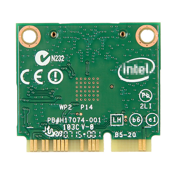 New Half Mini PCI-e bluetooth Wireless wifi card Dual Band 7260 7260HMW Wireless AC +Bluetooth 4.0 Wireless-AC WiFi BT 4.0