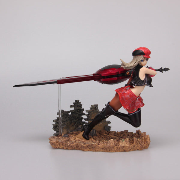 NEW hot 20cm God Eater 2 Alisa Big sword pvc action figure toys Christmas gift doll