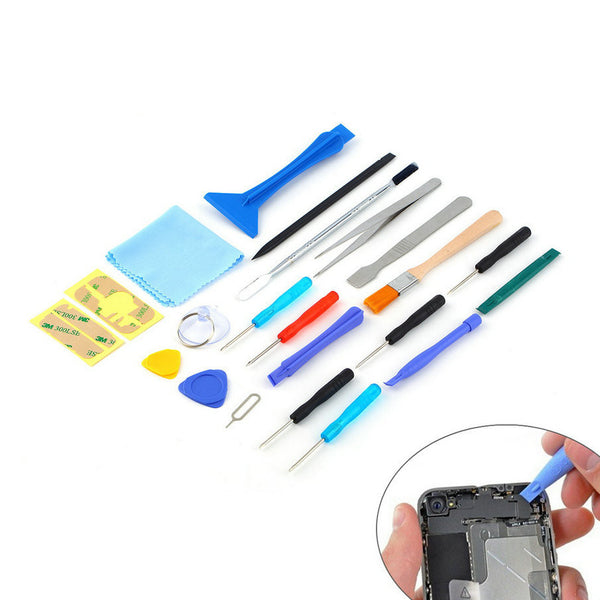 new hot sale 22 in 1 Open Pry mobile phone Repair Screwdrivers Sucker hand Tools set Kit For Cell Phone Tablet Brand New