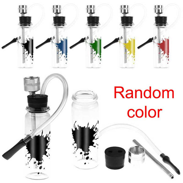 New Mini Water Smoking Pipes Shisha Hookah Filter Tube Holder For Tobacco Accessories