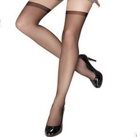 New Style Ultrathin Sexy Women Tights Stockings Black Thigh High Ultra Sheer Knee High Stockings Tights Lingerie