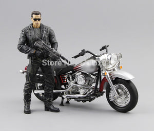 "(NO box) NECA The Terminator 2 Action Figure T800 Cyberdyne Showdown PVC Figure Toy 7""18cm MVFG132"