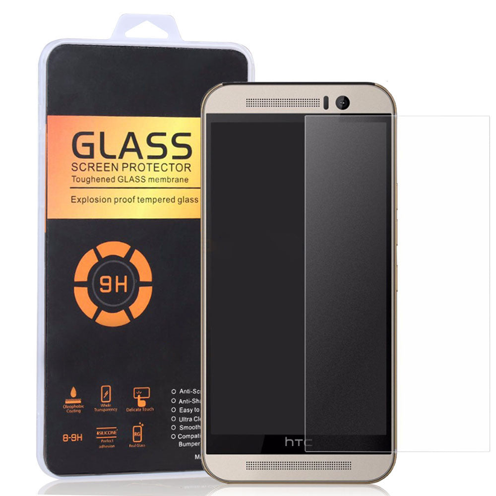 No Fingerprint Frosted Tempered Glass Screen Protector for Desire 626 728 820 826 Matte Film For HTC 10 A9 M7 M8 E8 M9+ E9 Plus