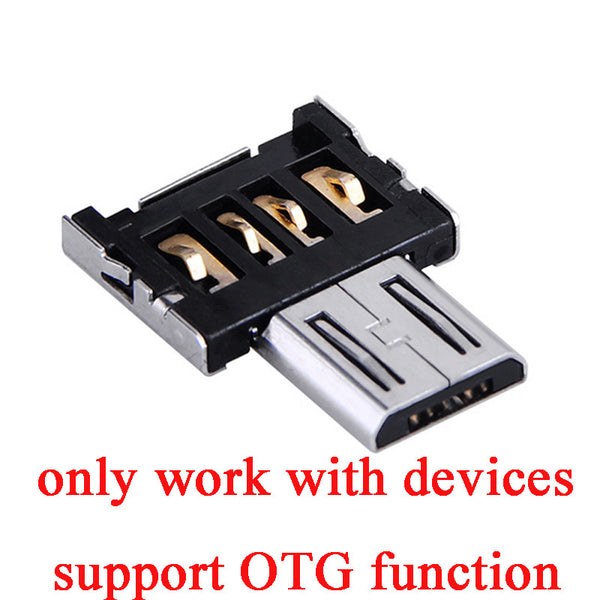 OTG Adapter For usb flash drives Pen Drive Mobile Phone Adapters Turn Android phone Tablet Connections cable interface