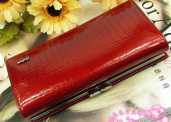 Temanli Solid Genuine Leather Wallet Women 5