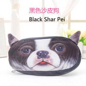 pencil case animal estuches school girl dog soft federmappe estojo escolar menina estuche estuches para lapices peluche pen case