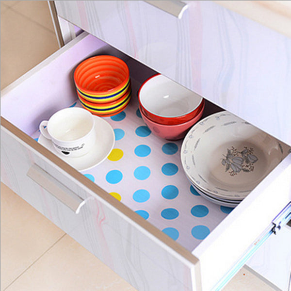 printed antibacterial ambry mat moistureproof cupboard drawer paster waterproof skidproof bureau chest pad garderobe sticker mat