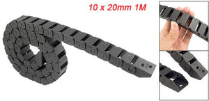 Promotion 10 x 20mm 1M Open On Both Side Plastic Towline Cable Drag Chain