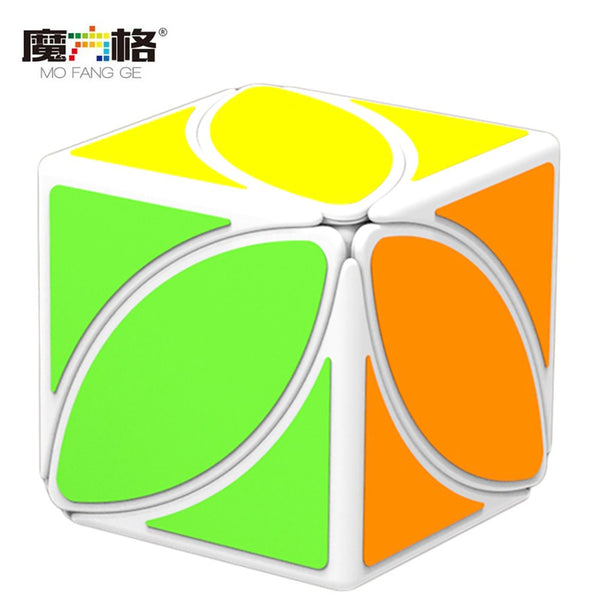 QiYi QY Mofangge Ivy Cube The First Twist Cube of Leaf Line White Color