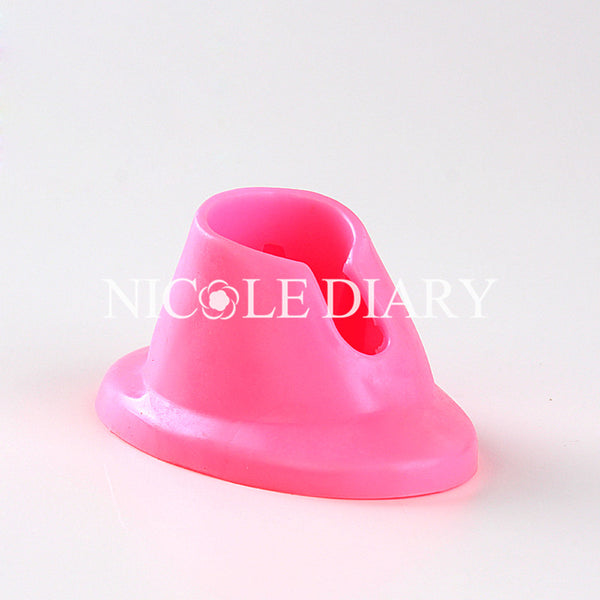(Random Color) Nail Polish Slanted Holder Tool High Quality Stand Seat Tool Nail Art Tool 834719