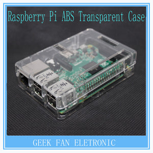 Raspberry Pi 3 ABS Case Cover Raspberry Pi 2 Transparent Shell Box for Raspberry Pi Model B Plus Case B301T