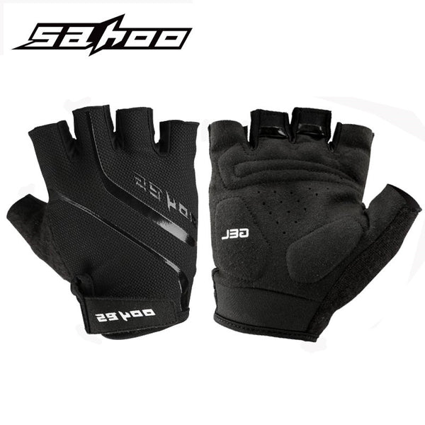 SAHOO Half Finger Cycling Gloves MTB Bicycle Gloves Downhill Motocross Sport Gloves Bike Gloves Men Women Guantes Ciclismo Mujer